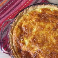 Quiche de queso de cabra y tomate confitado